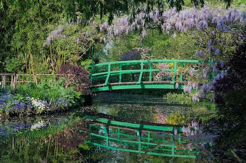 a casa e os jardins de Monet