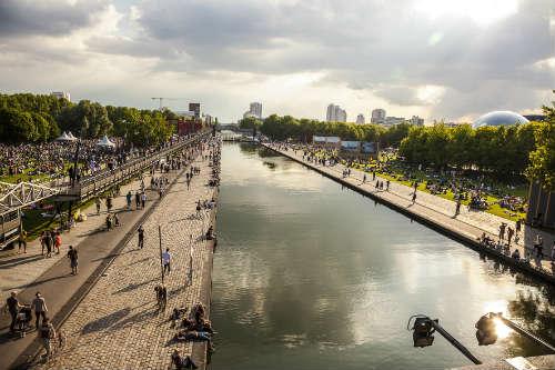 Le parc de la Villette et le Canal de l'Ourcq - Philippe LÇvy
