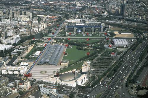 Parc de la Villette vue gÇnÇrale ∏ Philippe Guignard