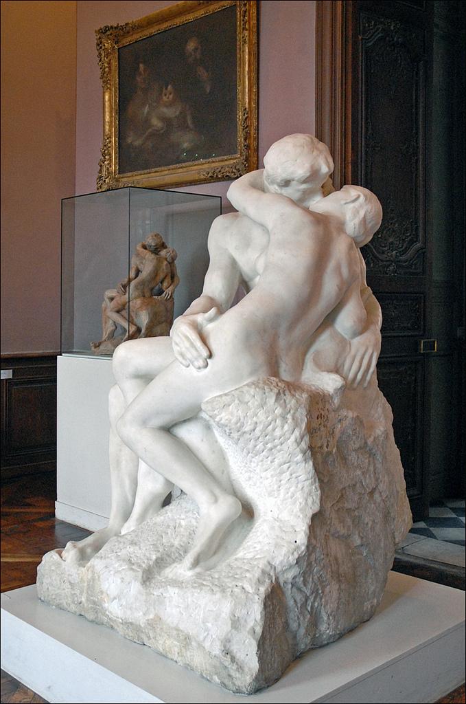 O Beijo, de Auguste Rodin