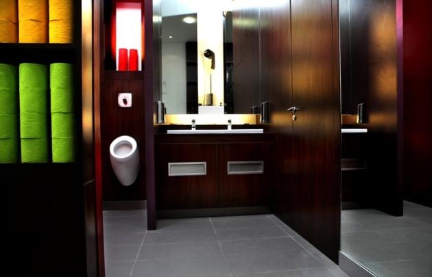 Os banheiros Point WC