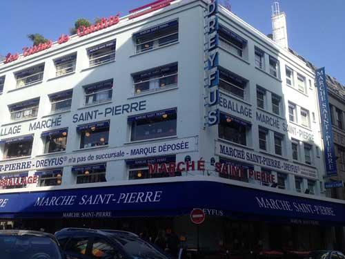 Marché Saint Pierre, o incrível mercado de tecidos em Montmartre