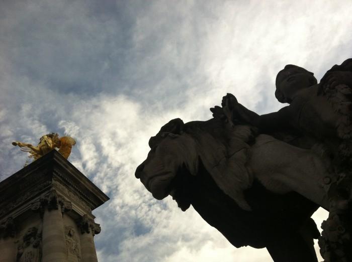 Pont Alexandre III, em Paris