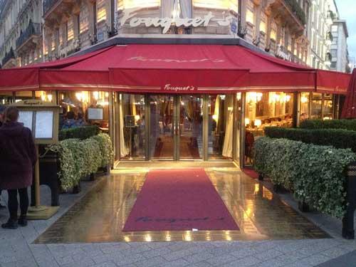 Fouquet's na Avenida Champs Elysées