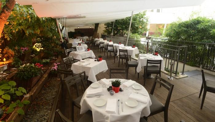 Restaurante Flora Danica, na Av. Champs Elysées