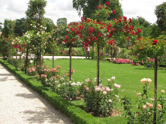 Jardin de Bagatelle, em Paris