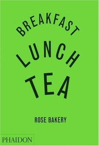 Livro de receitas da Rose Bakery