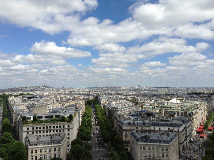 Paris é uma cidade pequena