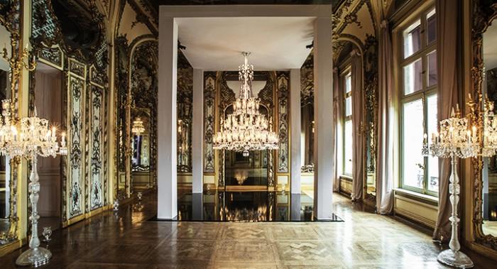 A Maison Baccarat em Paris abriga a loja, o restaurante e o museu da marca