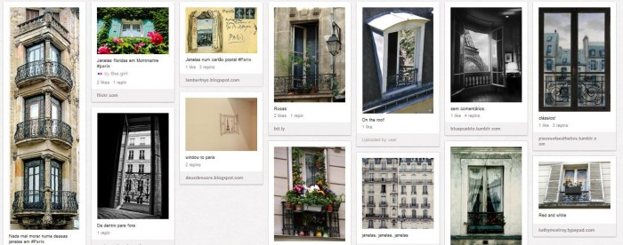 As janelas de Paris