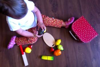 Brinquedos de madeira da Pain d´Épices