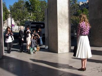 Semana de moda em Paris