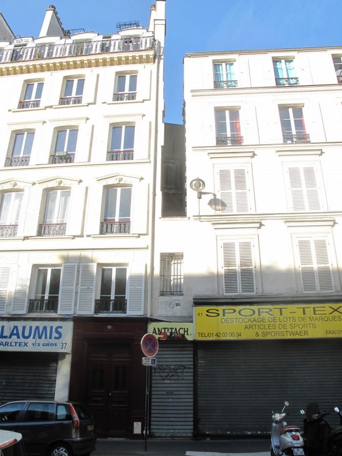 A menor casa de Paris