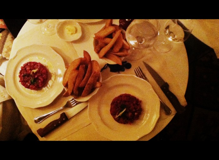 Steak Tartare no Beef Club