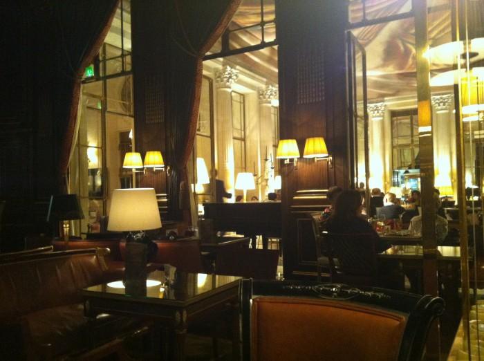 Bar 228, do Hotel Le Meurice