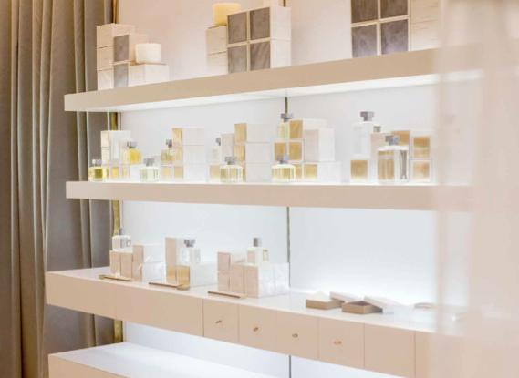 A Maison Francis Kurkdjian em Paris