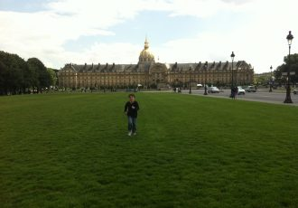 Esplanada do Museus des Invalides em Paris