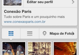 Instagram Conexão Paris