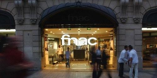 A loja da Fnac em Paris