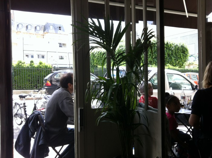 Glou, un dos restaurantes da Rue Vieille du Temple