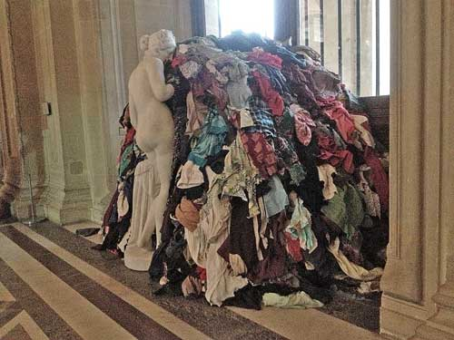 Michelangelo Pistoletto, no Louvre