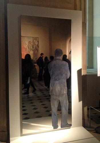 Michelangelo Pistoletto, no Louvre