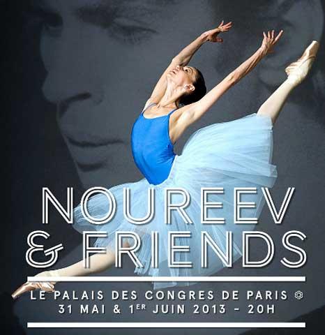 Noureev and friends em Paris