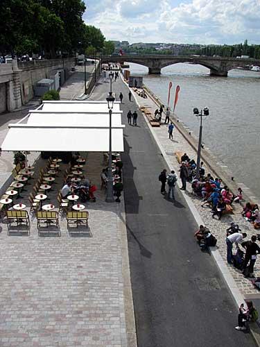 Vista da ponte Alexandre III