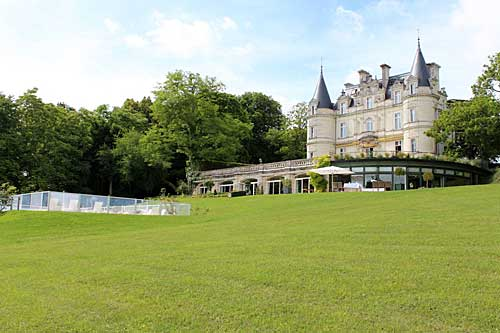 Castelo de la Tortinière no Vale do Loire