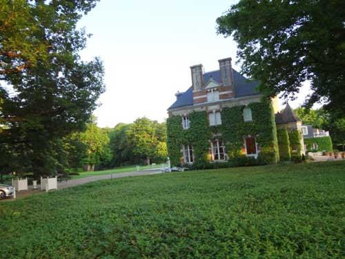 Castelo situado em maravilhoso parque