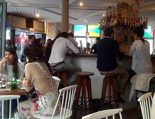 O bar central