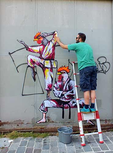 Street Art, Rafael