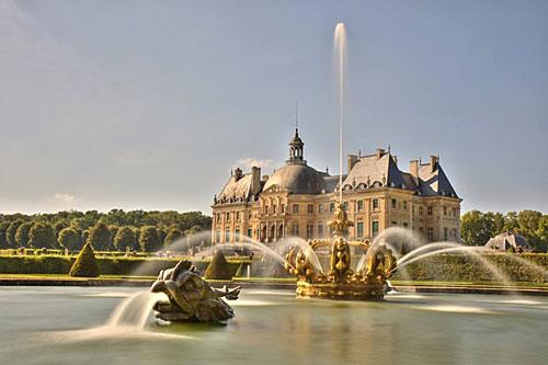 Os jardins de Vaux le Vicomte