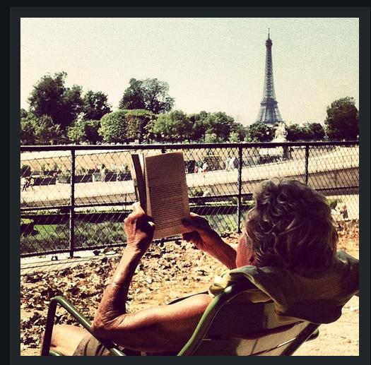 Leitura do Tuileries, em Paris