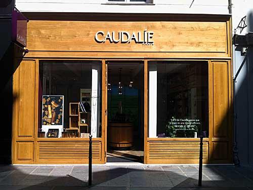 Loja Caudalie, no Marais, Paris