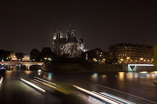 As costas da Notre Dame