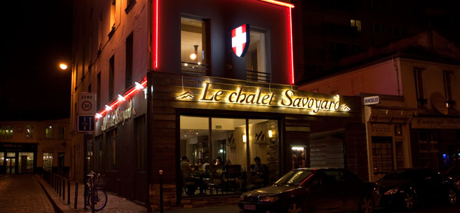 fondue restaurante Chalet Savoyard Paris
