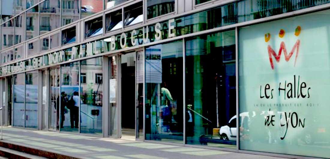 Mercado Les Halles de Lyon frança