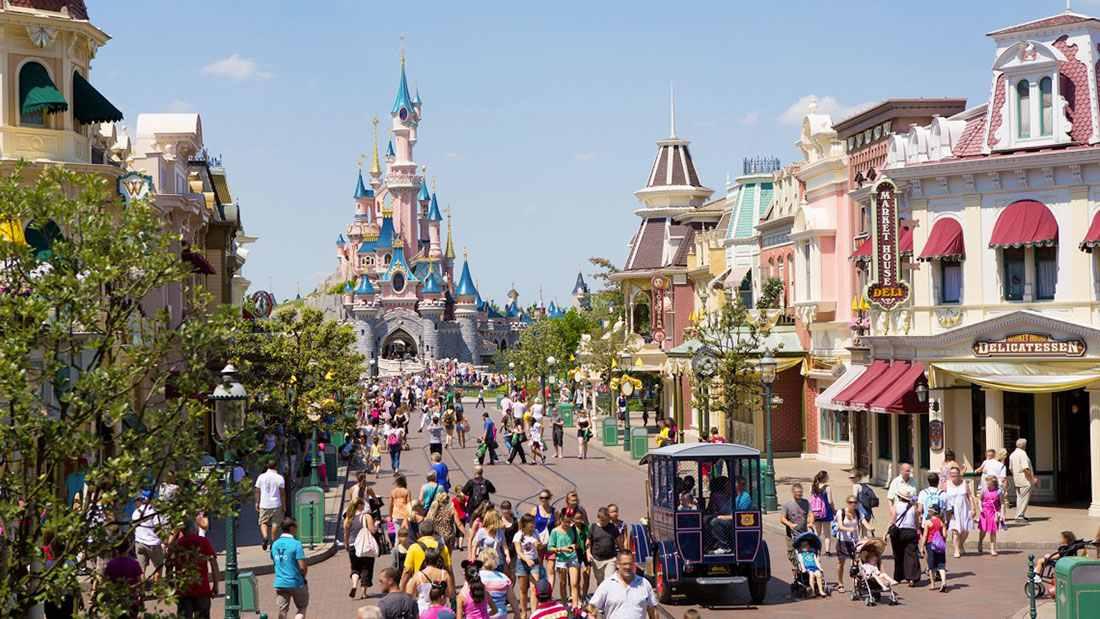 Disneyland e a Main Street
