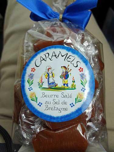 Caramelo com manteiga salgada