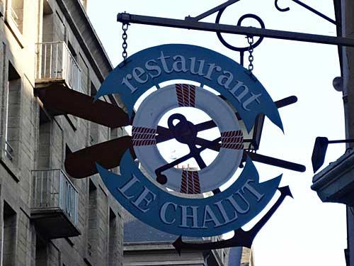 Le Chahut, um dos bons restaurantes de Saint Malo