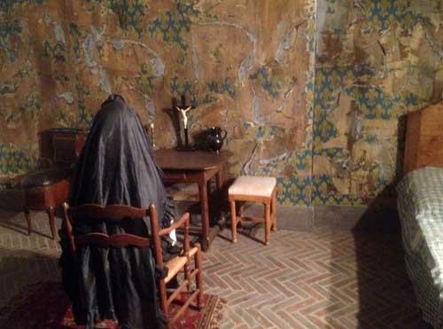 Reprodução de Maria Antonieta na prisão