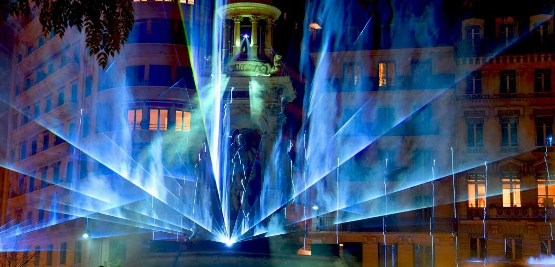 Festa das Luzes em Lyon frança