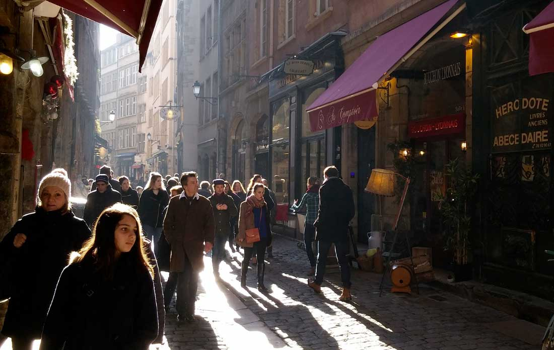 bairro Vieux Lyon em lyon frança