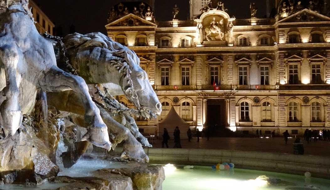 Place des Terreaux lyon França
