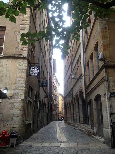 Ruelas do Vieux Lyon