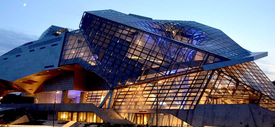Museu Confluences em Lyon frança