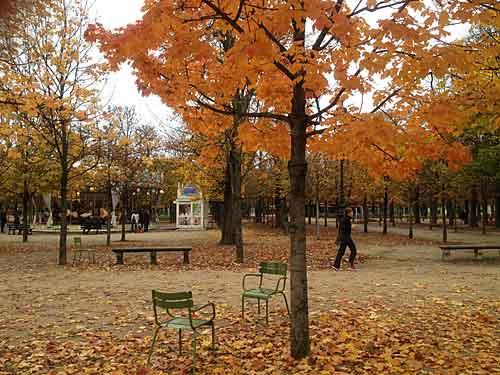 Outono,Tuileries