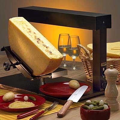 Raclette método tradicional