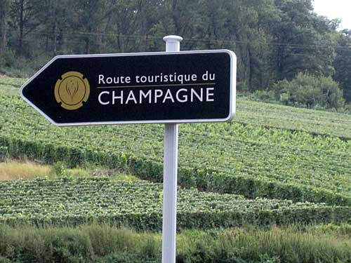 O belo circuito turístico da região Champagne